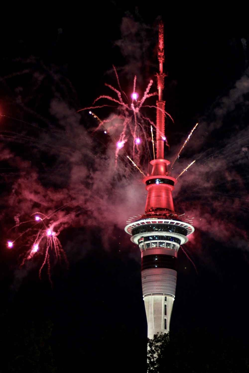 Firework, SKY Tower
