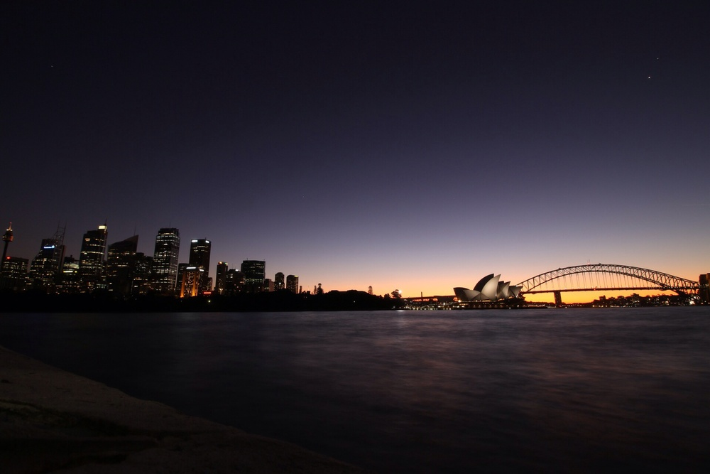 Sydney Harbour (Mrs. Macquaries Point)