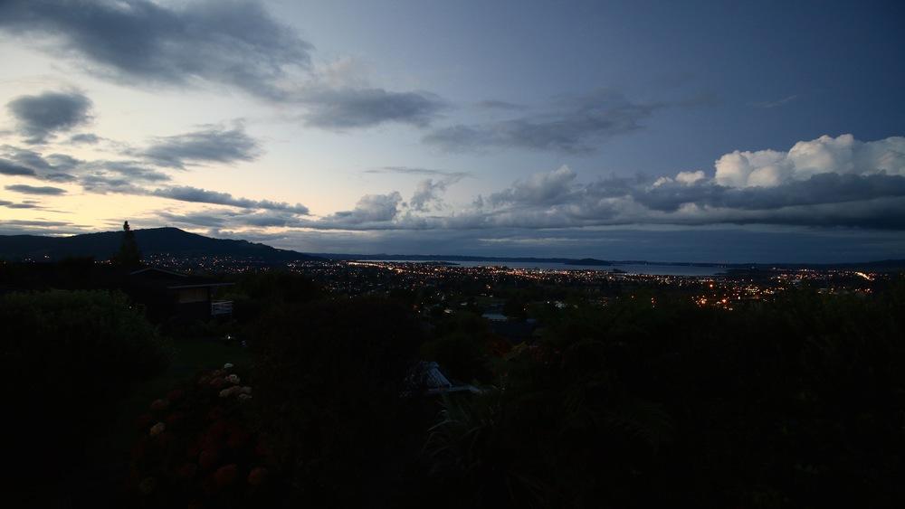 Rotorua and lake rotorua