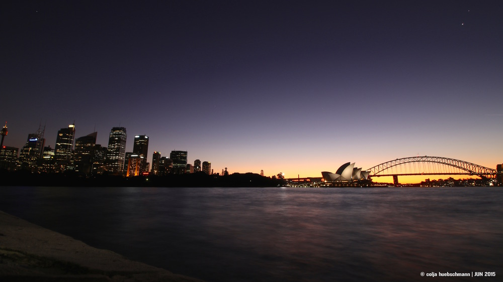 Sydney Skyline from Mrs Macquarie's Point ,   AUSTRALIA