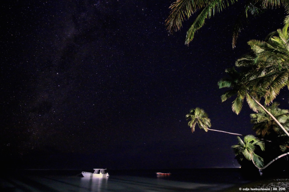 starry sky, the beachhouse, coral coast, fiji