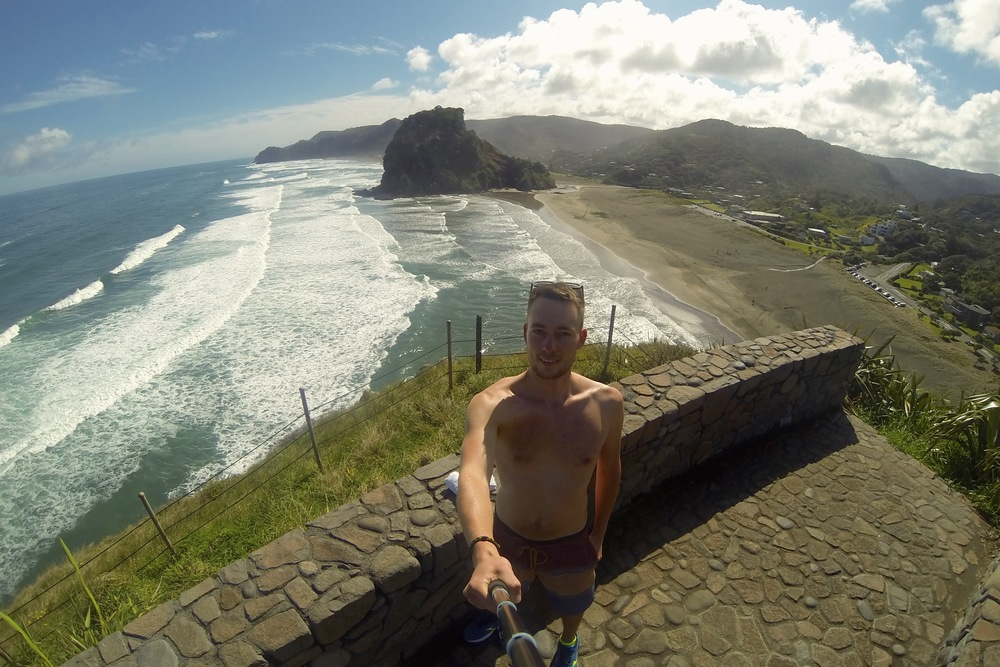 Tasman outlook, piha beach