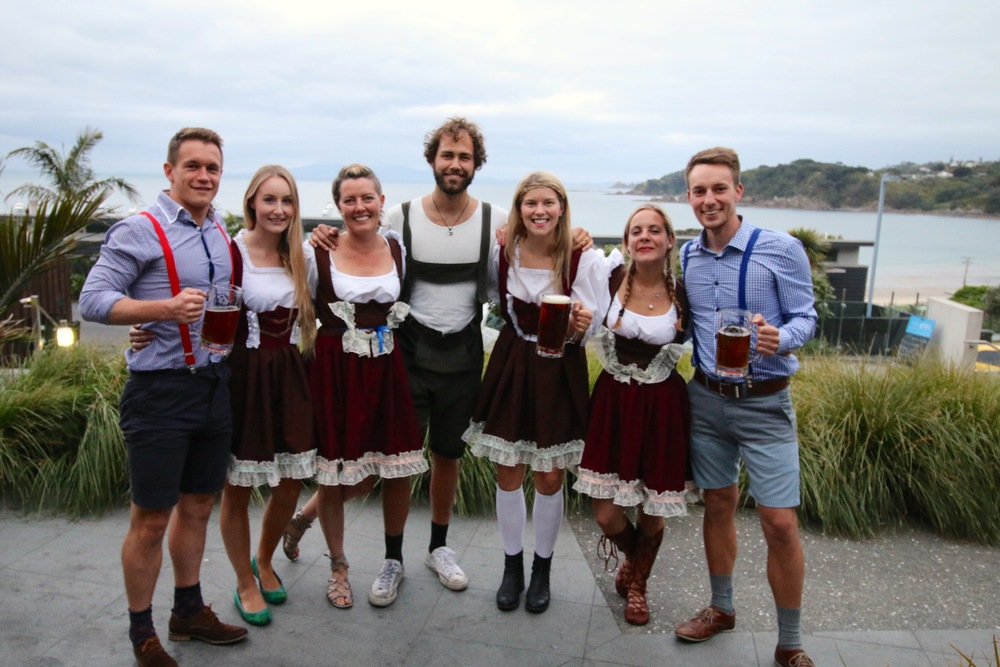 Oktoberfest at the Cove, Waiheke Island