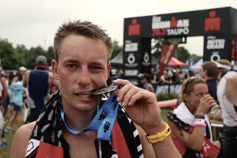 HALF IRONMAN TAUPO 2015 FINISHER ! ! !