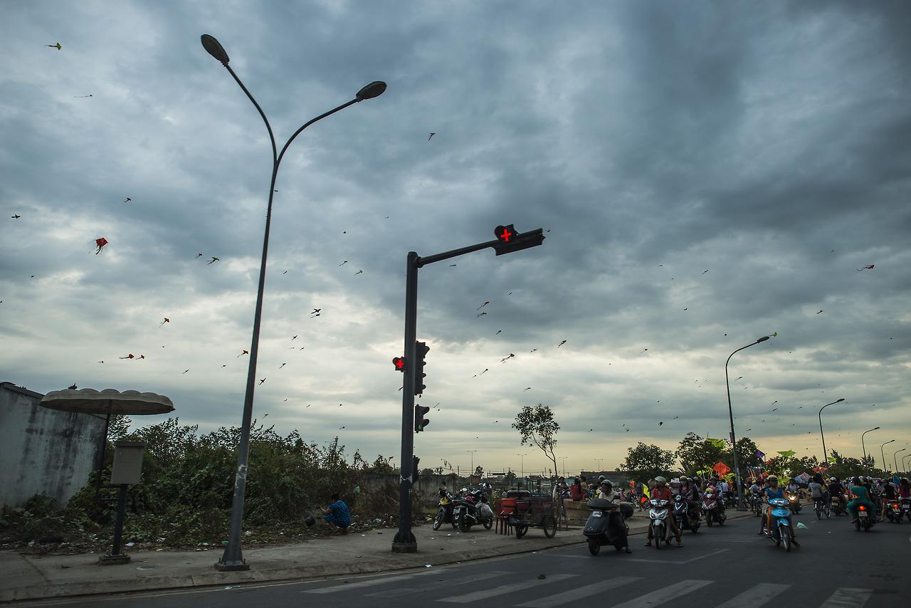 Kites, Ho Chi Minh, Vietnam.