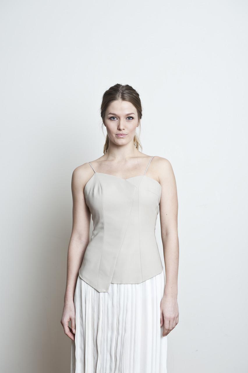 Gitte i en fantastisk kjole, laget av superflinke Elin Tveitan.
