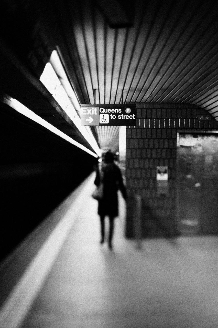 Subway, NYC.