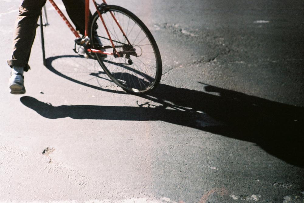 Bike, NYC @f/0.95