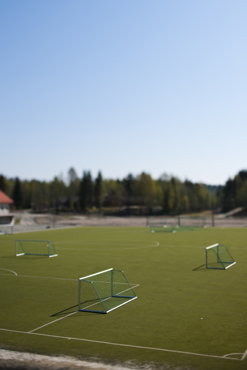 Football field, Skien. 45mm T/S.