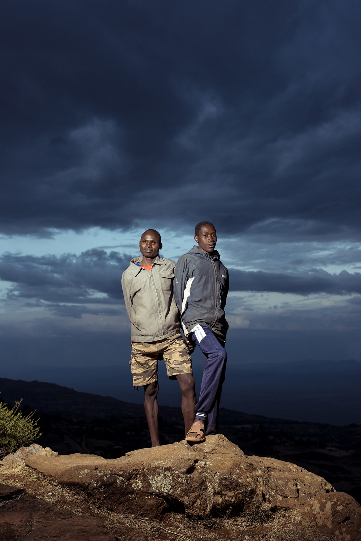 Runners, Kenya.