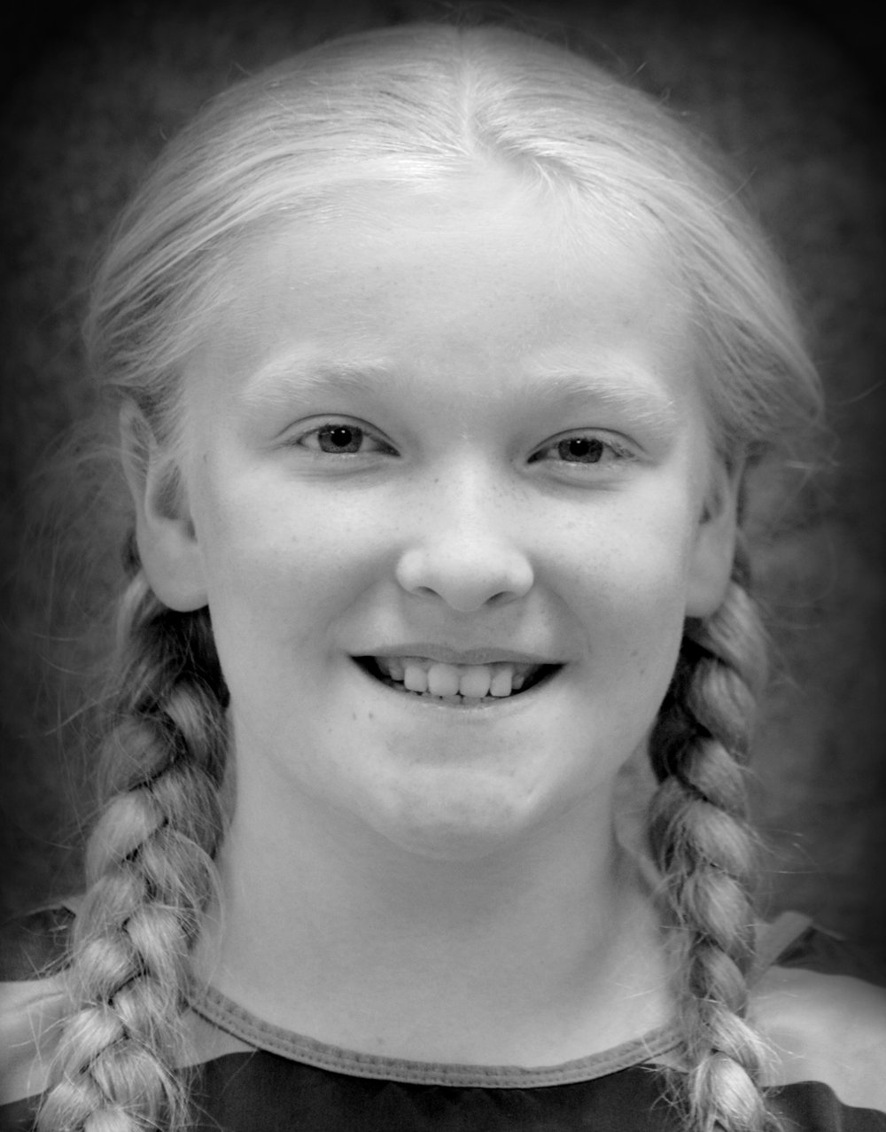Blind School Stude  nt  //   Emalyn Kroeker   Emalyn Kroeker enjoys anything in the arts! Emalyn is a sixth grade homeschooler. She dances ballet, modern, and hip hop with En Croix and acts with Fire and Light, recently playing Suzie in  The Hundred Dresses . She has performed four shows with Kinetic Revelation. She greatly enjoys art, especially painting, drawing, crocheting, and sewing. Emalyn also studies violin, guitar and piano with KHA Strings, and Latin and English with Kroeker Homeschool Academy.