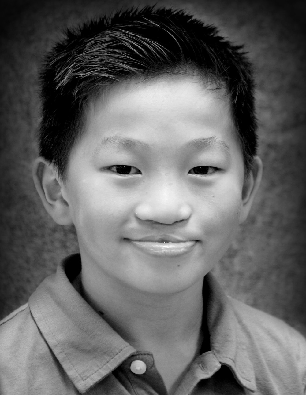 Blind School Stude  nt  //   Evan Gerig   Evan is 10 years old and is in his third year of drama with Fire and Light Academy. His favorite roles have been as an Oompa-Loompa in Charlie and the Chocolate Factory and as Grey the wolf in The Jungle Book. When he is not on stage, Evan loves reading books, collecting almost anything, and creating videos for his Youtube channel.