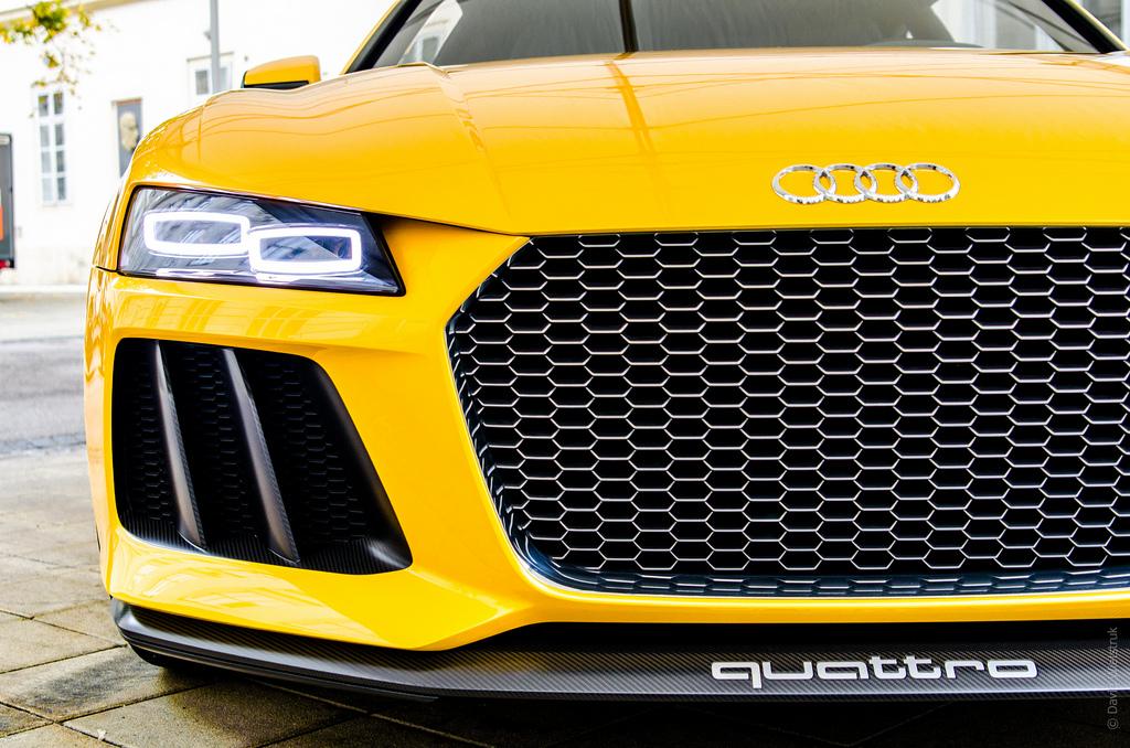 Audi Quattro Front Grill