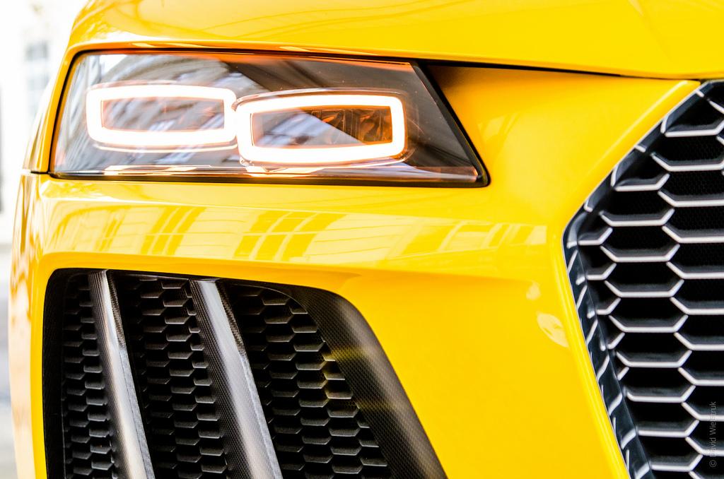 Audi Quattro Headlight 4