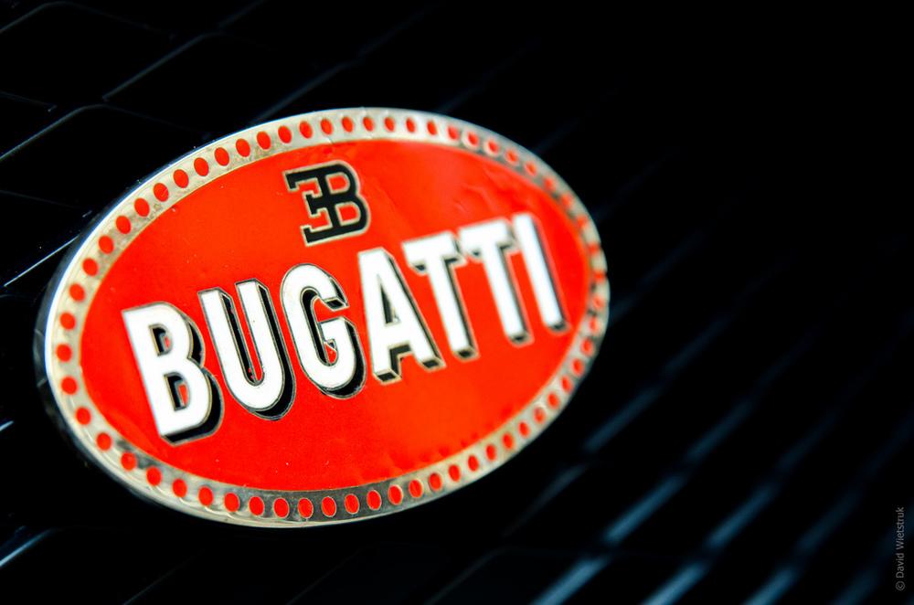 Bugatti Front Emblem