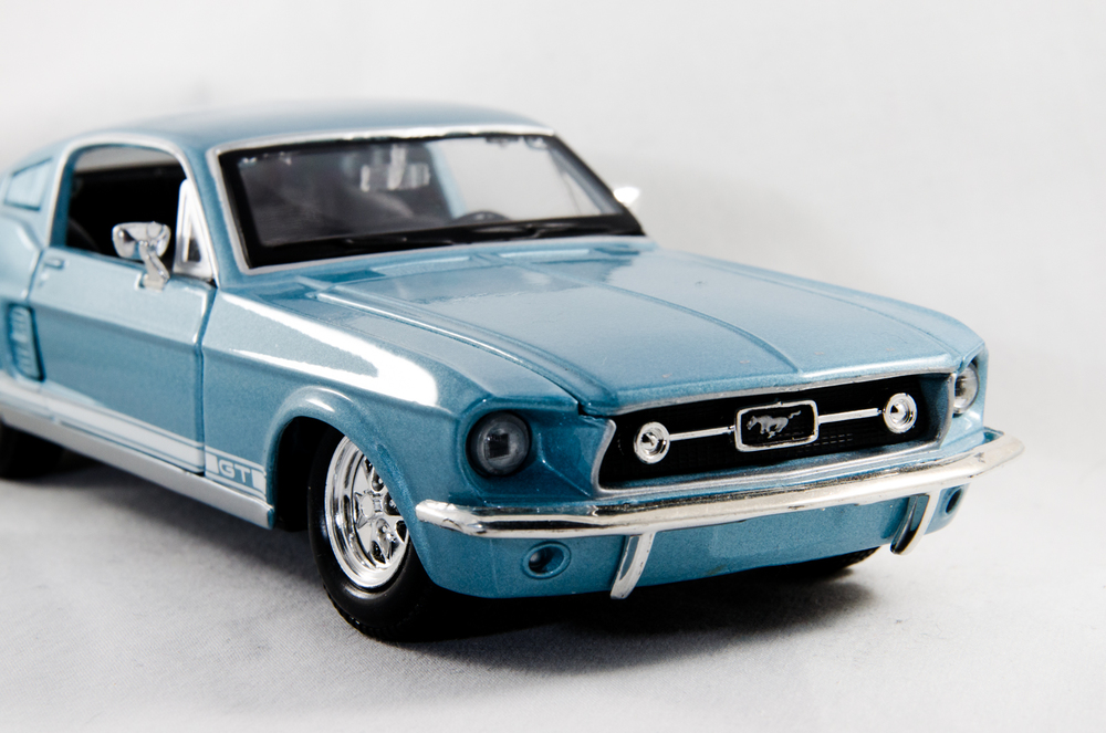 Project 365: #43 - Dad's Mustang