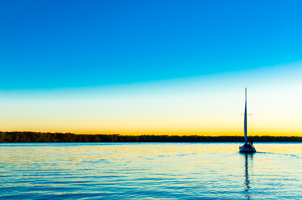 Project 365: #46 - Sunset on St. Johns River