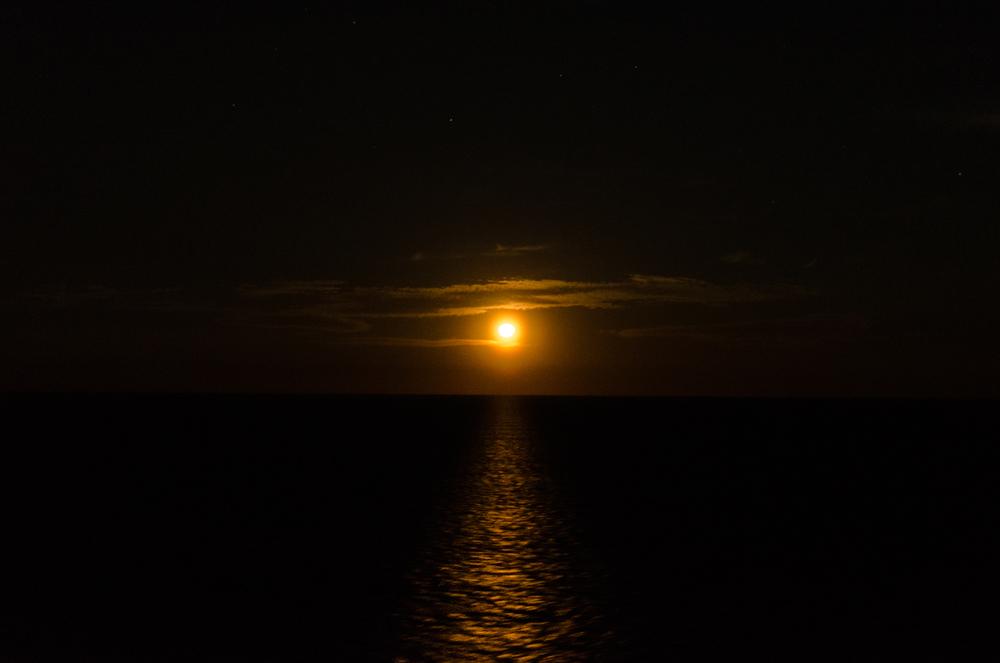 Project 365: #48 - Atlantic Moonrise