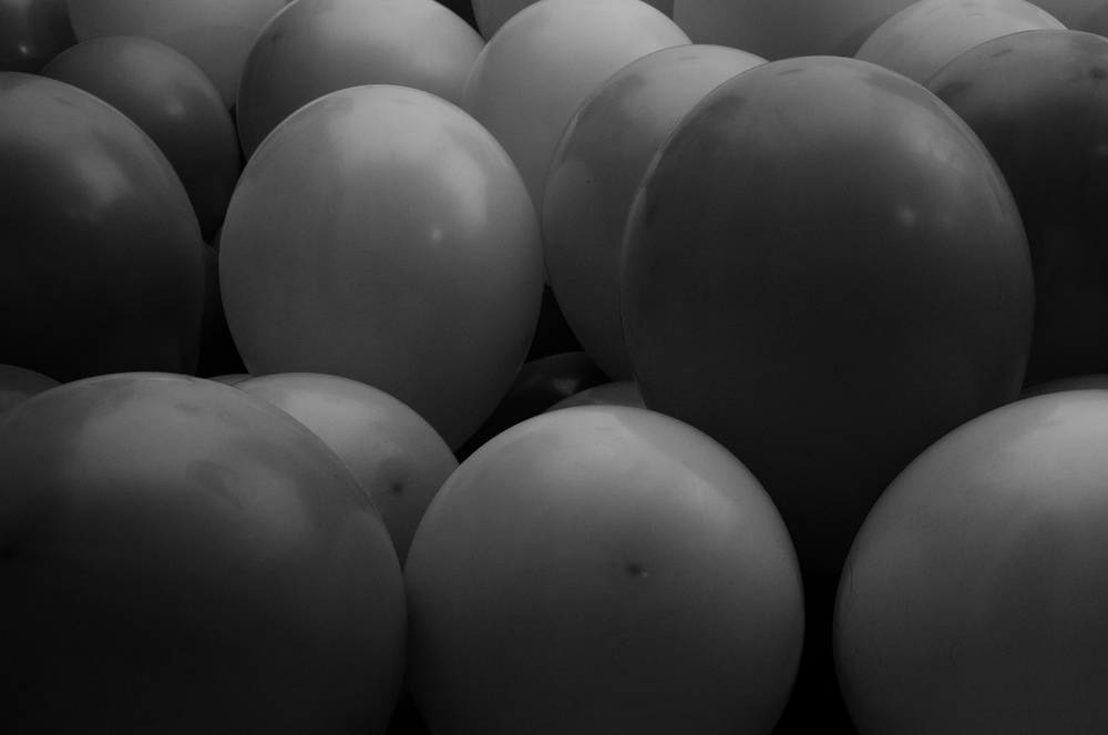 Project 365: #92 - Black and White Party
