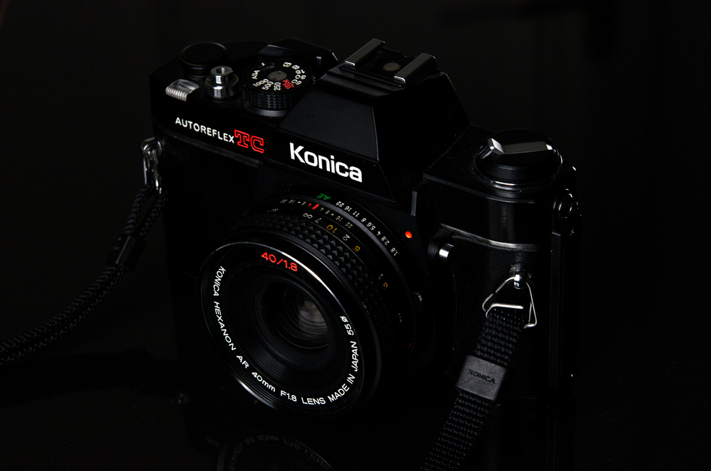 Project 365: #126 - Konica Autoreflex TC