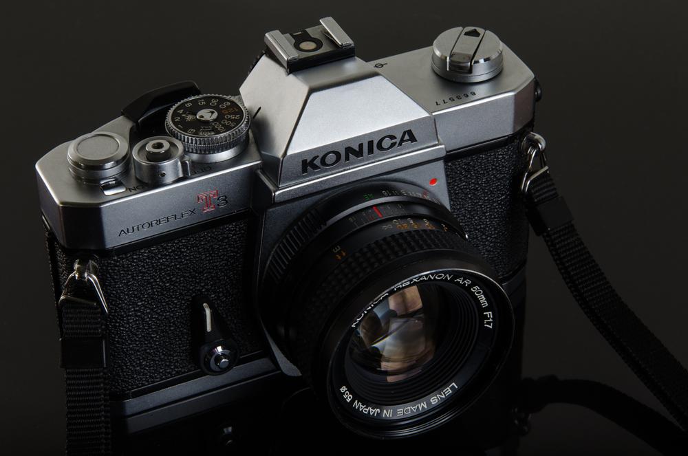 Project 365: #128 - Konica Autoreflex T3N
