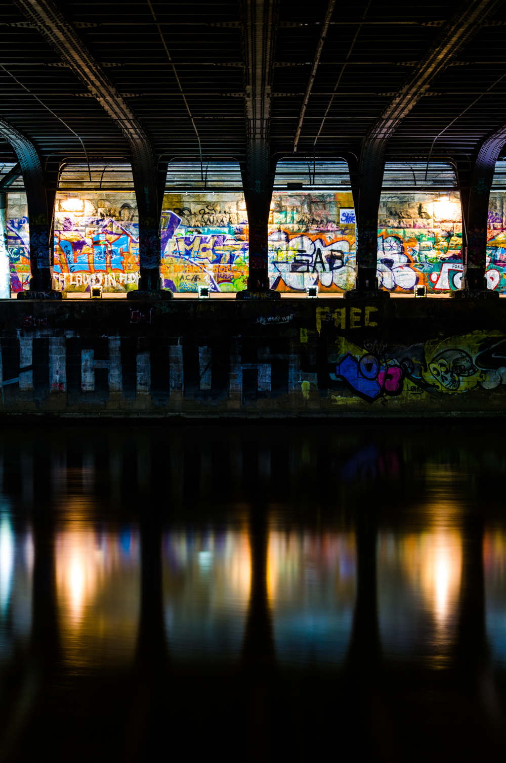 Project 365: #129 - Under the bridge