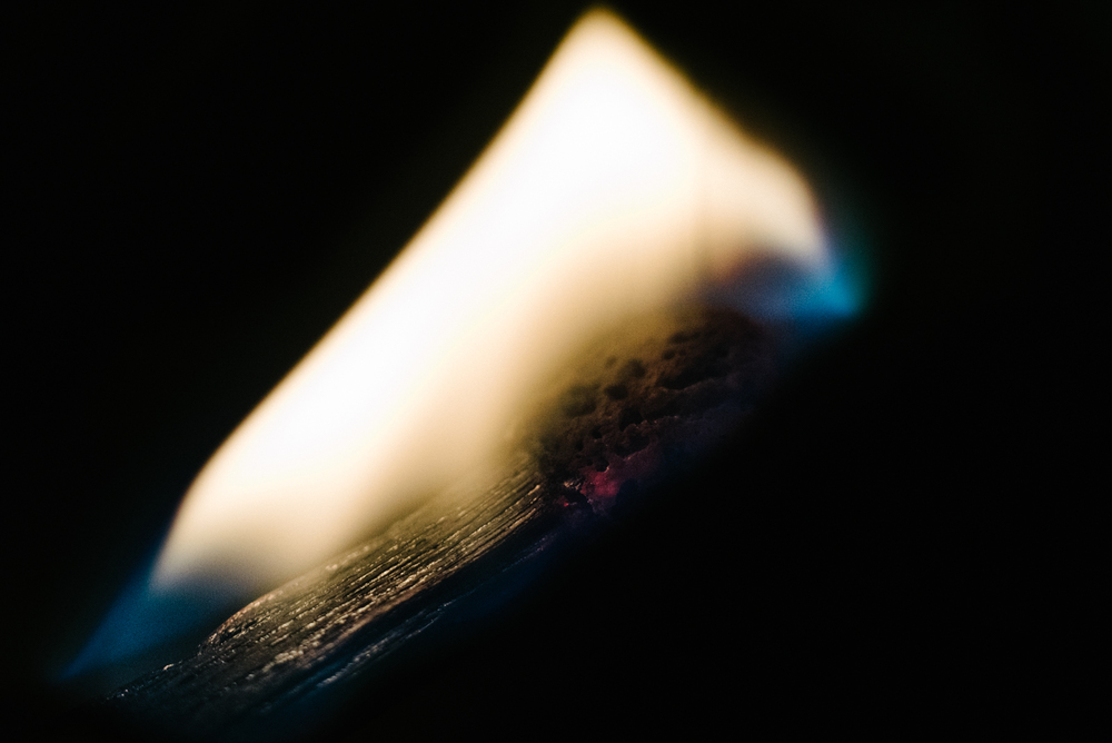 Project 365: #305 - Flame in the night