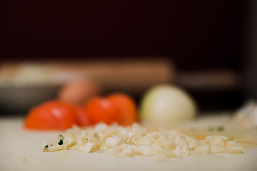 Project 365: #341 - Bokeh Cooking