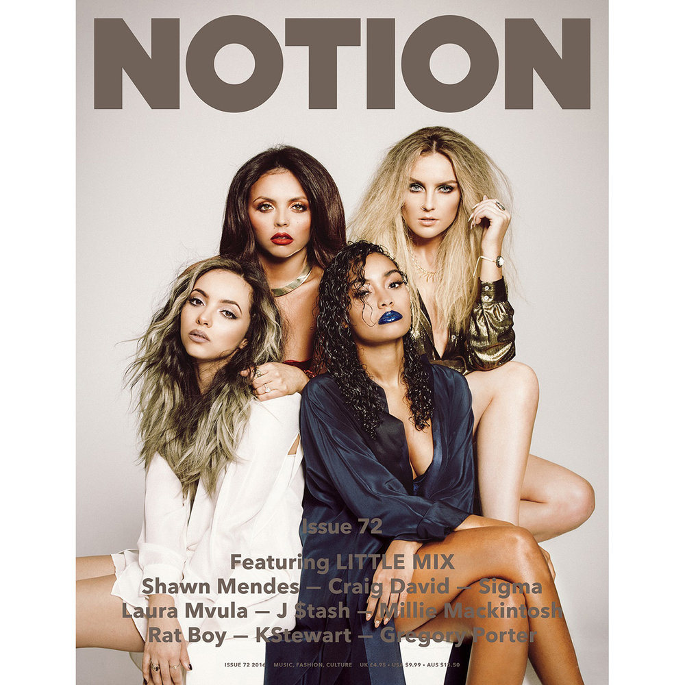 Little Mix -  Notion Magazine -