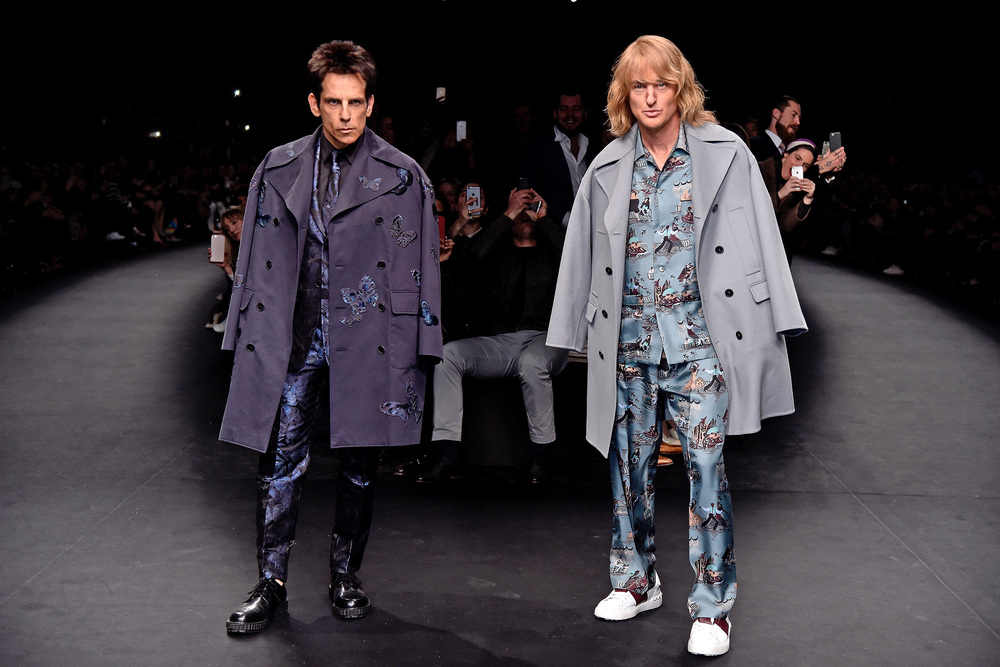 This happened at Paris Fashion Week #Zoolander