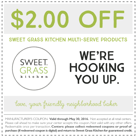 Sweet Grass Kitchen Coupon