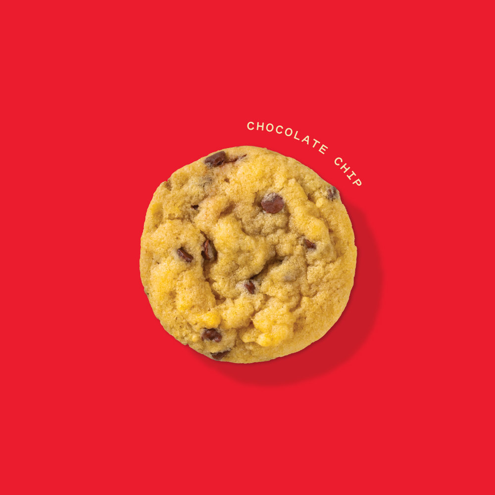 Chocolate Chip Cookie –   now with CBD!  65mg each // 50:50