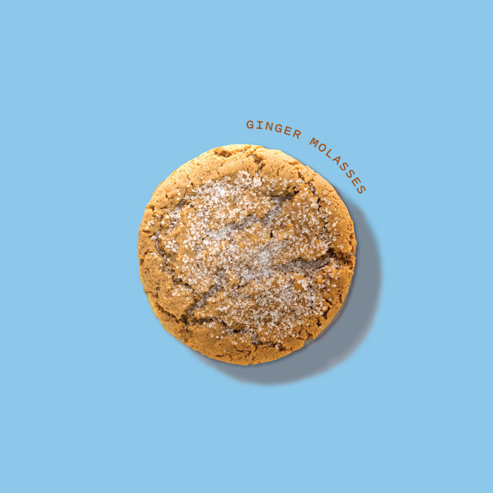 Ginger Molasses Cookie  100mg activated THC // Seasonal