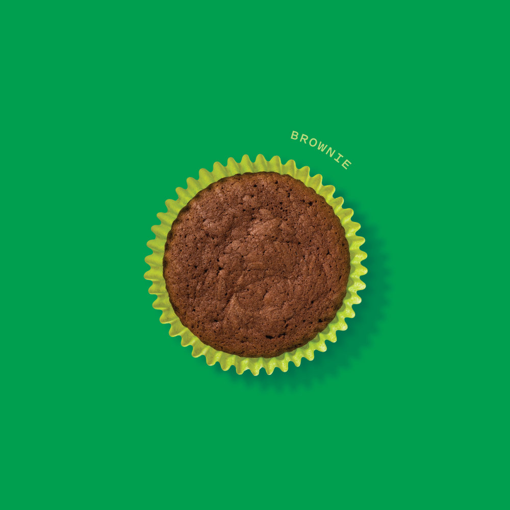 Brownie  100mg activated THC