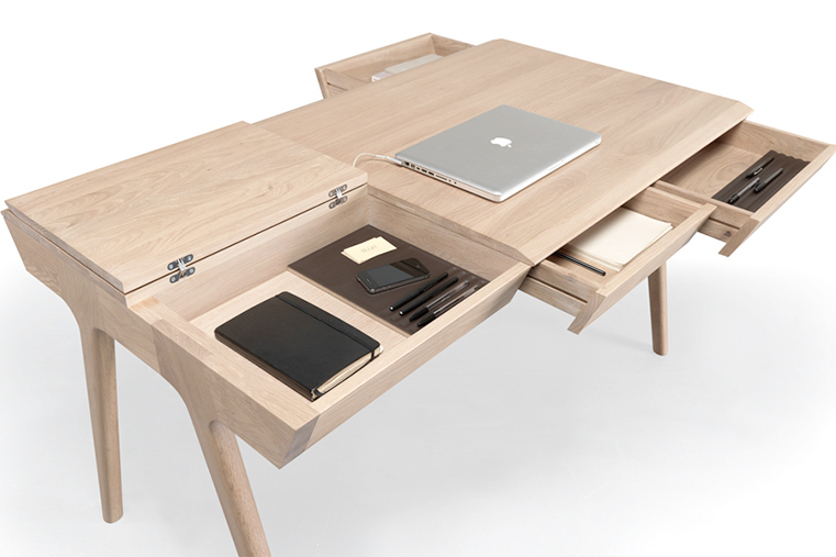 METIS  desk design by  Gonçalo Campos  for  WEWOOD