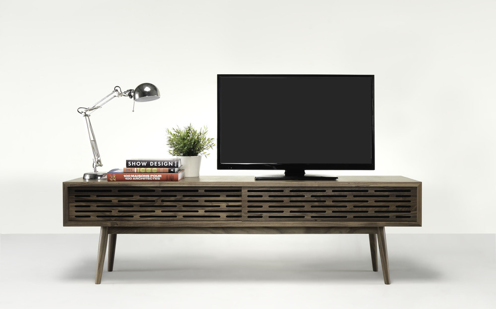 Christmas festivities invite you to spend a lot of time in doors relaxing and watching TV, RADIO low sideboard is the perfect piece to storage your multimedia devices.