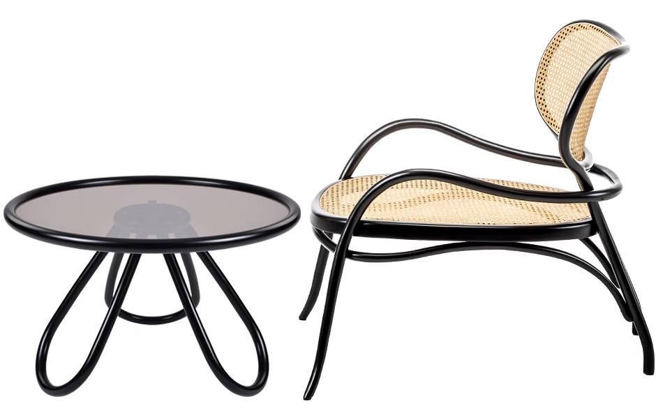 Lehnstuhl  lounge chair by Nigel Coates for  Gebrüder Thonet Vienna