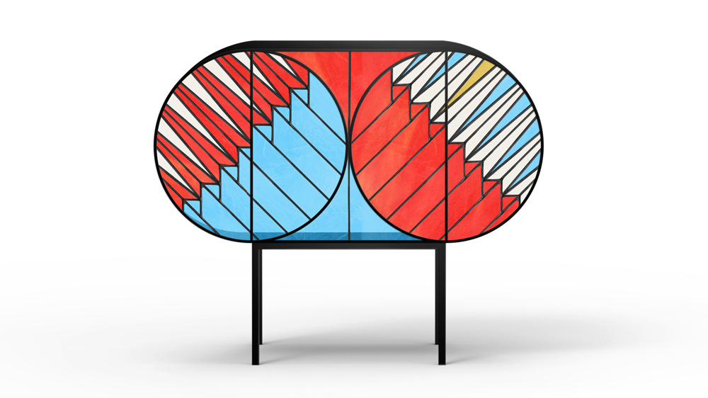 Credenza  by Patricia Urquiola and Federico Pepe for  SPAZIO PONTACCIO