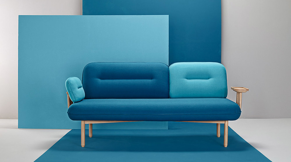 COSMO SOFA BY LA SELVA   Cosmo rethinks the traditional scheme of sofa, creating a multifunctional, versatile and customizable proposal. A sofa which adapts not only to the characteristics of the space containing it, but to the needs of the user who inhabits it.