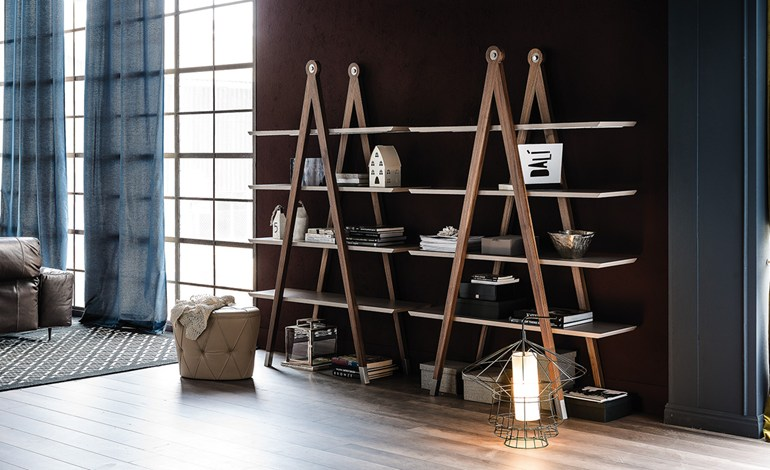 Giotto bookshelf  from  Cattelan Italia