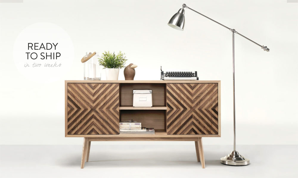 CASANOVA is a unique sideboard that combines craftsmanship and elegance.