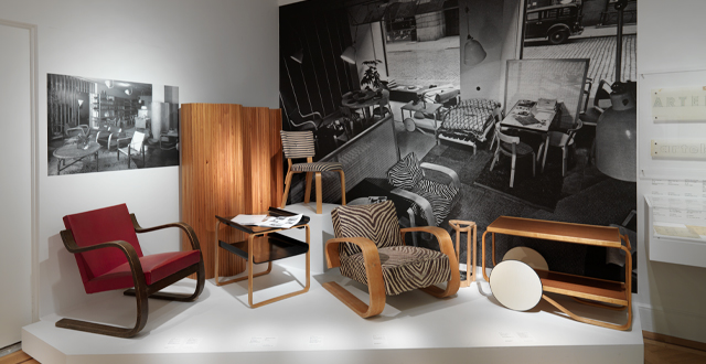 ARTEK AND THE AALTOS: Creating a Modern World   is the first exhibition in the US to examine ARTEK. Approximately 200 works will be featured, many nerver seen before.