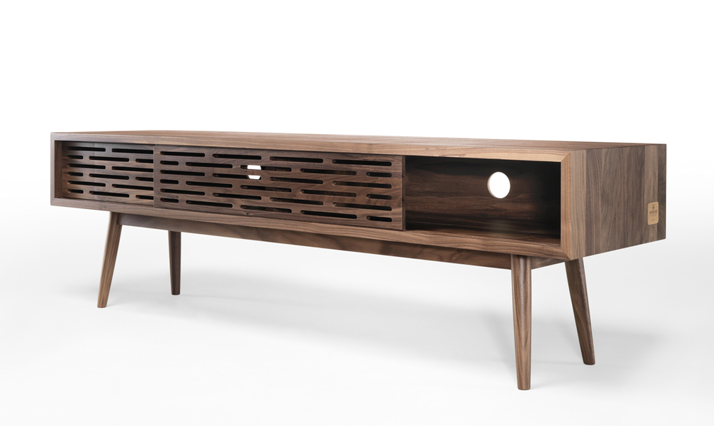 Make a style statement this Autumn and add beautiful natural materials such as oak or walnut with  RADIO sideboard .