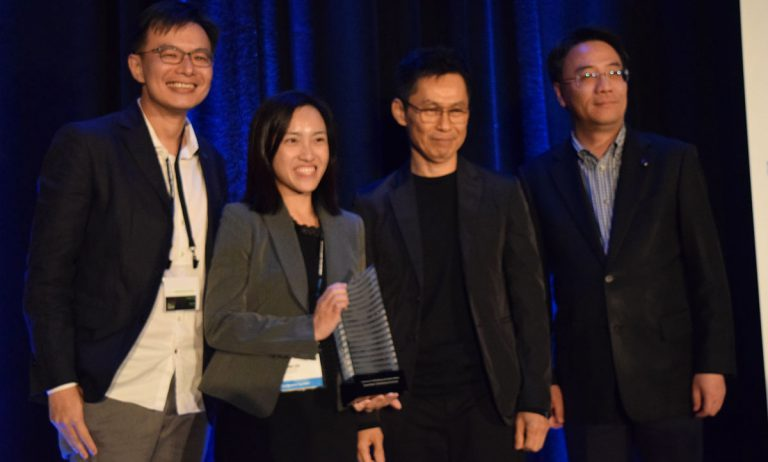 From left to right: Hong Wei Phua, Director, WOHA Architects; Wanling Lee, Development Manager, Far East Organization; and Mun Summ Wong, Founding Director, WOHA Architects.  Photo:CTBUH