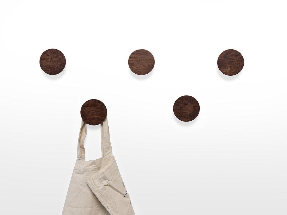 walnut coat hangers