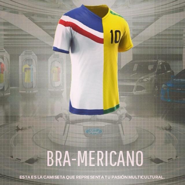 Brasil & USA (porque mi Venezuela no esta) 😣 #yosoymas Mi camisa ideal para este mundial  www.camisetronford.com  haz la tuya y compártela!!!! Te puedes ganar una por participar 😉