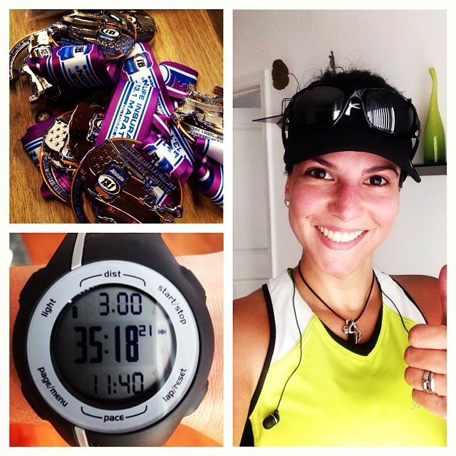 Just 13 days!!! 😱😋😄😎 (at Brickell Run)