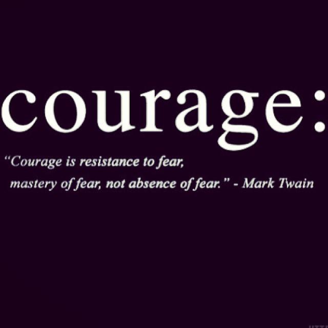 Resist fear, don't avoid it!!! 😎 #ofcourseyoucan