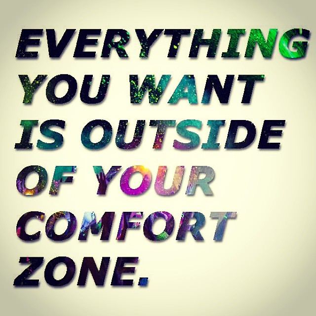 So… Get out of your comfort zone and do something that is good, better and fun for you!!! #ofcourseyoucan