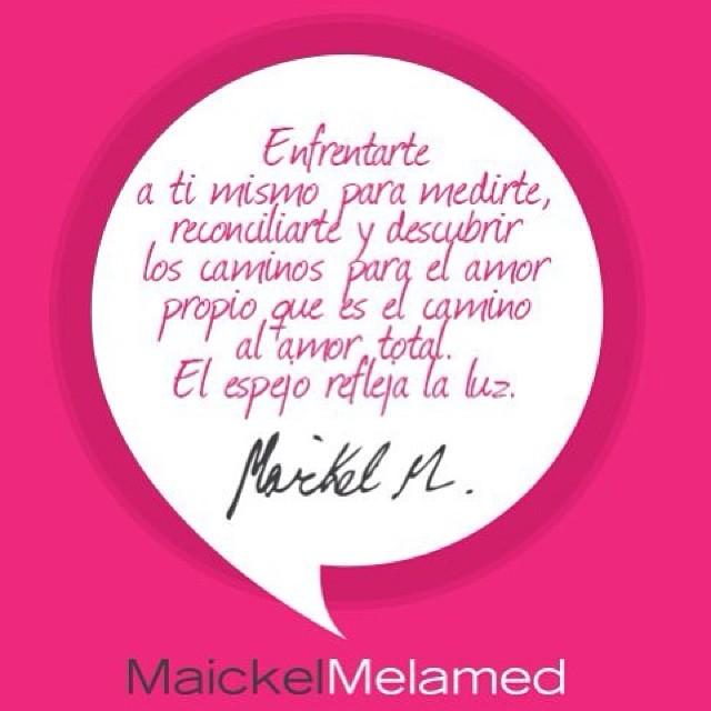 @maickelmelamed  eres el mejor!!! Mil gracias por compartir tus enseñanzas con nosotros!!!
